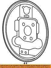 CHRYSLER OEM-Brake Backing Splash Dust Shield Plate Left 5191297AA