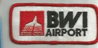 BWI Baltimore Washington International Airport patch 2 X 4-3/8 #6167