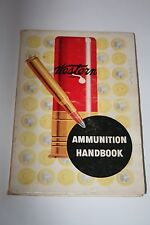 WESTERN OLIN ARMS & AMMUNITION GAME HUNTING & BALLISTIC HANDBOOK 1952 17th Ed.