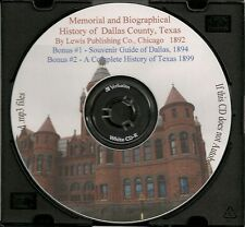 Memorial and Biographical History of Dallas County Texas