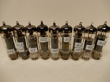 Amperex and Other 6CW5 Vacuum Tubes (9) Measuring 80-90% Gm Amplitrex