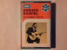 RENATO RASCEL Arrivederci Roma mc cassette k7 QUARTETTO CETRA COME NUOVA L. NEW