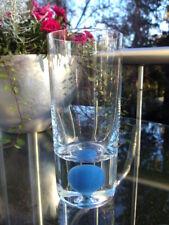 ICHENDORF Trinkglas SKY BLUE mit Kugel in Blau Höhe ca. 14,5 cm modernist