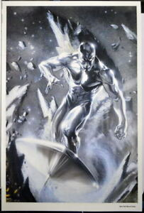 SILVER SURFER In Space Print / Poster Marvel