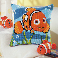 Disney's Finding Nemo Cross Stitch Cushion Kit
