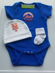 Mets baby/newborn clothes Ny Mets baby clothes Mets baby shower  Mets bring home