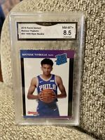 Matisse Thybulle Rookie 2019 Panini Instant Graded 8.5 SP 1989 Retro 76ers
