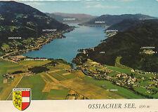 AK vom Ossiachersee, Alpine Luftbild, Kärnten,   (B17)