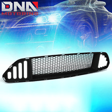 FOR 2015-2017 FORD MUSTANG FRONT UPPER BADGELESS HONEYCOMB HOOD GRILLE W/LED DRL