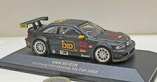 IXO Sondermodell; BMW  M3 GTR,   Spielwarenmesse 2002