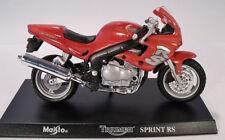 Triumph 955i Sprint RS + Standplatte + Datensatz Motorrad im Blister 1:18 Maisto