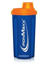 IronMaxx Shaker blue-Orange (750ml)
