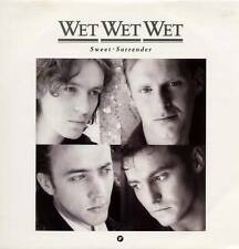 """WET WET WET ~ SWEET SURRENDER ~ 1989 UK 3-TRACK 12"""" SINGLE + P/S [Ref.1]"""