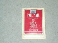 NEW SEALED Pall Mall Cigarette playing cards