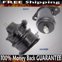 Front Right+Front Engine Mount SET fits 03-07 Accord 3.0L V6 A4517 A4526HY