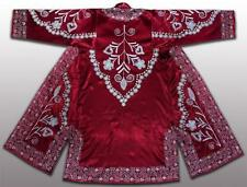 GORGEOUS UZBEK SILK EMBROIDERED ROBE CHAPAN BUKHARA G108