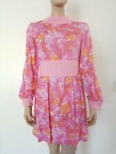 New listing Authentic Vtg 60s Gogo Mini Dress Pink & Orange Mod Disco sz S/M