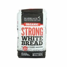 Organic Strong White Bread Flour - 1kg - Pack of  6