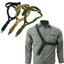 Tactical Gun Strap Single Point Sling Bungee Rifle Quick Buckle Quick Release