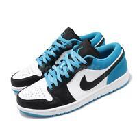Nike Air Jordan 1 Low SE Black Laser Blue White Men Shoes AJ1 Sneaker CK3022-004