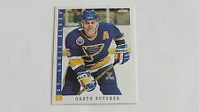 1993/94 SCORE HOCKEY GARTH BUTCHER CARD #173***ST. LOUIS BLUES***