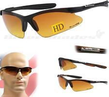 XLoop HD SUNGLASSES SPORT WRAP Half Frame Golf Cycling Running Men Women Glasses