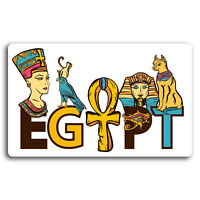 2 x 10cm Egypt Egyptian Travel Vinyl Stickers - Sticker Laptop Luggage #19561