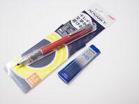 Uni-Ball Kuru Toga Advance 0.5mm Auto Lead Rotation Mechanical Pencil +Leads, R