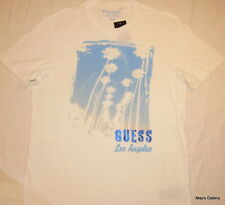 GUESS  Blouse T-Shirt Cotton Logo Graphic  T - shirt  Tee Top Men's Tank  NWT M