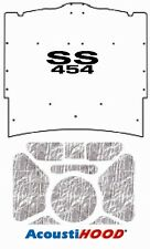 1965 1966 Chevrolet Under Hood Cover with G-SS454 SS-454
