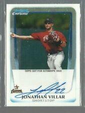 2010 Bowman Chrome JONATHAN VILLAR Rookie Card RC 160 Baltimore Orioles