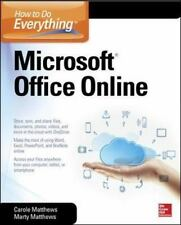 How to Do Everything: Microsoft Office Online - Good - Matthews, Carole -