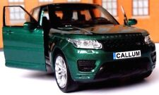 PERSONALISED PLATES RANGE ROVER SPORT Toy Car MODEL BIRTHDAY EASTER GIFT NEW!