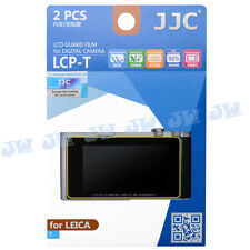 JJC 2pcs Hard Coating LCD Guard Display Screen Protector Film for Leica T Camera