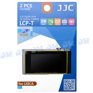 JJC 2PCS Hard Coating LCD Screen Guard Protector PET Film For Leica T Camera