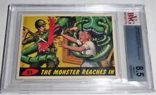 1962 Mars Attacks The Monsters Reach In #31 Mint BGS BVG 8.5 Like PSA Alien War
