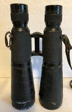 Original German WWII Hensoldt-Wetzlar Nacht-Dialty 7x56 Binoculars w/ Case #5511