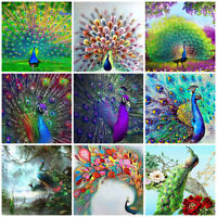 Animal Peacock Full Drill Diamond Painting DIY Fashion Home Decor Cross Stitch
