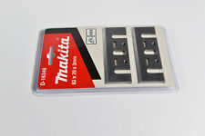 Genuine Makita D-16346 82mm High Speed Steel Re-Sharpenable Planer Blades