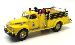First Gear 1/34 Scale 19-1905 - 1951 Ford F-7 Fire Truck - NY State Thruway