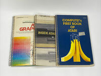 Inside Atari DOS Compute !'s Graphics First Book Lot X 3 1981 Vintage Books RARE