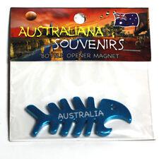 Spiny Fish (cyan), Australia , Bottle Opener, Fridge Magnet, Souvenir.