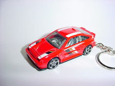 NEW 3D RED HONDA CRX Si CUSTOM KEYCHAIN keyring key racing BACKPACK BLING