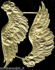 ANGEL WING LARGE ORNATE GOLD TOPPER DOLL REPAIR ORNATE ORNAMENT DRESDEN GERMAN