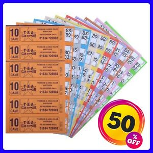 Bingo Tickets Bingo Books 3000 10 Page 10 Game  6 To View Bingo Books