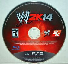 WWE 2K14 (Sony PlayStation 3, 2013) PS3 WWF Wrestling Video Game Disc Only