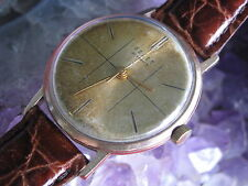 Polet Russian CCCP Vintage 14K Rose Gold 29-Jewel Automatic Wrist Watch