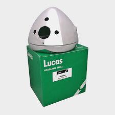 Genuine Lucas 7 Inch Chrome Headlamp Shell and Rim Triumph LU54523508