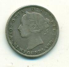 Newfoundland 10 cents 1888 AVF