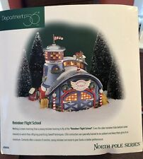 Department 56 Reindeer Flight School NorthPole Series Collect #56.56404 Box!